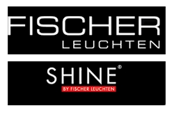 fischer leuchten fischer shine shine led stoffschirme. Black Bedroom Furniture Sets. Home Design Ideas