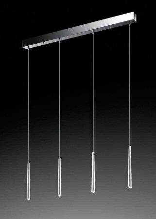 4 flammige led pendelleuchte lucid 9647 von schmidt leuchten. Black Bedroom Furniture Sets. Home Design Ideas