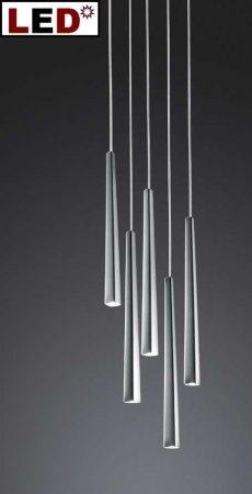led pendelleuchte lucid 5 flg rund schmidt leuchten. Black Bedroom Furniture Sets. Home Design Ideas