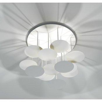 Wei e deckenlampe glas pendelleuchte modern for Deckenlampe led modern