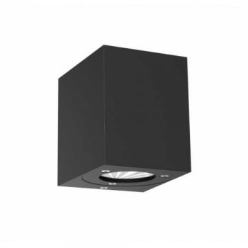 Modern outdoor LED luminaire CANTO KUBI black Nordlux