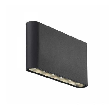 LED exterior wall light Kinver black Nordlux