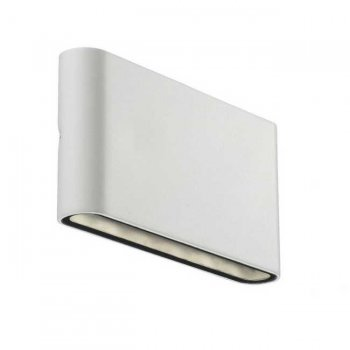 LED exterior wall light DENVER white Nordlux