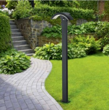 LED path light ESTA anthracite with motion