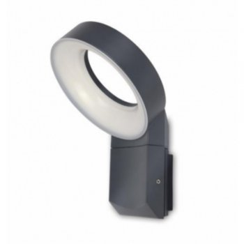 "LED outdoor wall light ""Meridian"" 6163S (gr) anthracite Eco-Light"