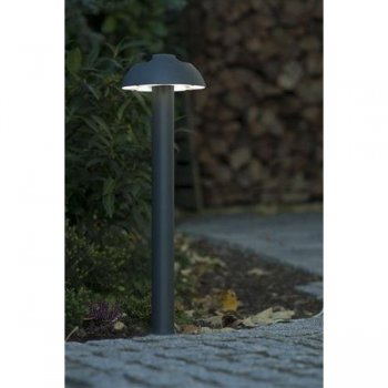 LED outdoor path light cast aluminum Anthracite