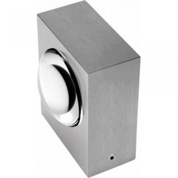 LED exterior wall light 2 x 3 Watt Stainless