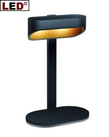 led tischleuchte onno 19 schwarz gold helestra. Black Bedroom Furniture Sets. Home Design Ideas