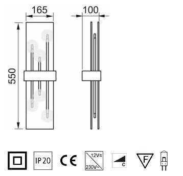 wall lamp club 51 663 063 2 x grossmann. Black Bedroom Furniture Sets. Home Design Ideas