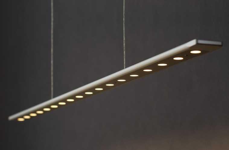 led esstischleuchte anax mit tastdimmer 135cm liin light. Black Bedroom Furniture Sets. Home Design Ideas