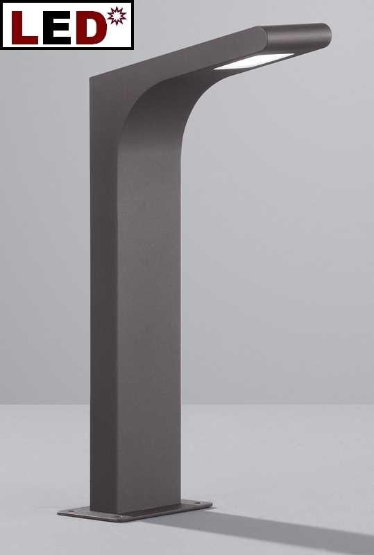 led sockellampe sockelleuchte anthrazit oder titanfarbig. Black Bedroom Furniture Sets. Home Design Ideas