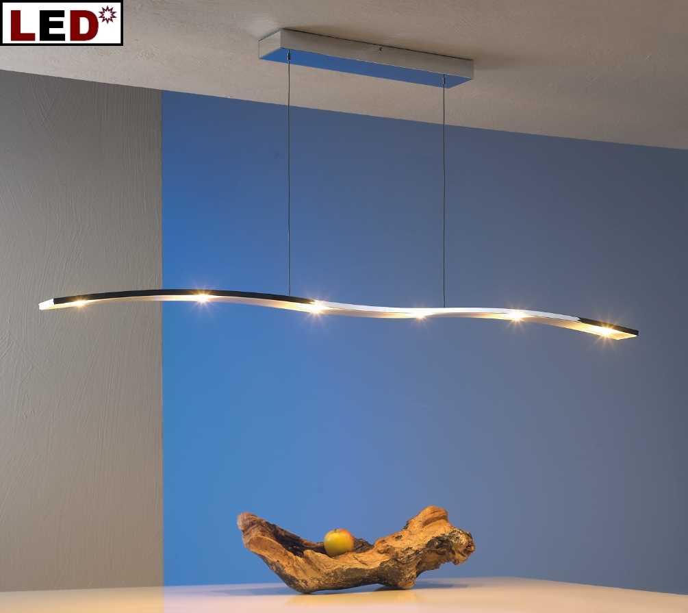 gro e led esstischleuchte onda 150cm 32390609 32290609 bopp leuchten. Black Bedroom Furniture Sets. Home Design Ideas