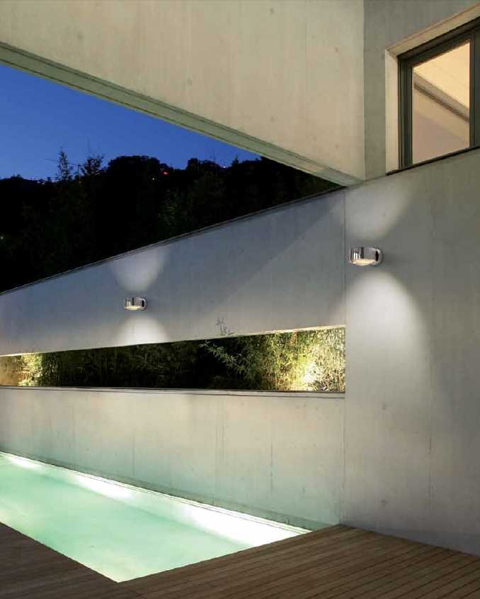 puk wall maxx outdoor aussenlampe vom top light chrom oder. Black Bedroom Furniture Sets. Home Design Ideas