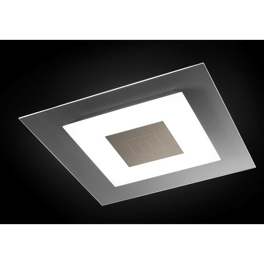 Led deckenleuchte flach led deckenleuchte quadratisch led for Flache deckenlampe