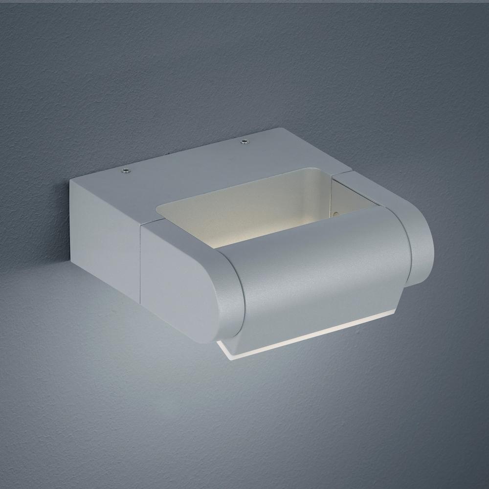 led au enwandleuchte gate silbergrau 320 aluminium helestra. Black Bedroom Furniture Sets. Home Design Ideas