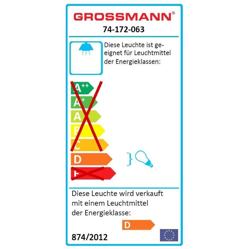 grossmann ceiling light domino 74 172 063 45cm x 45cm. Black Bedroom Furniture Sets. Home Design Ideas