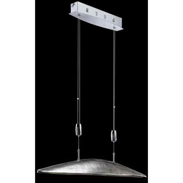 angebot pendelleuchte shine alu 12625 nickel antik chrom fischer leuchten neu ebay. Black Bedroom Furniture Sets. Home Design Ideas