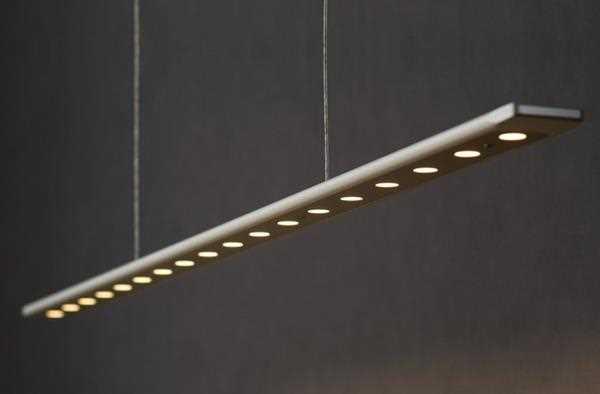 led esstischleuchte anax mit tastdimmer 168cm liin light On esstischleuchte led