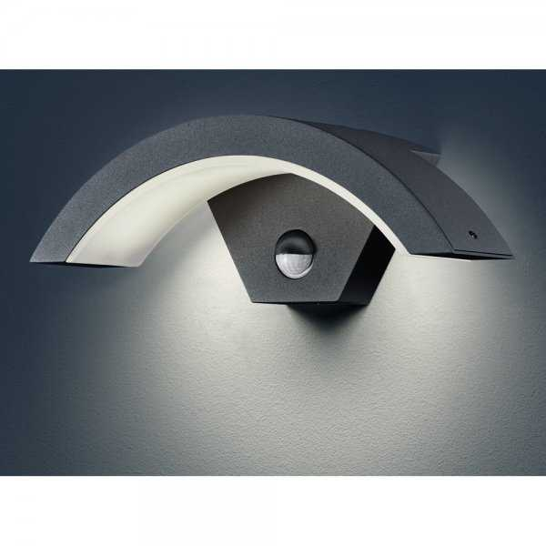 led au enwandleuchte au enwandlampe outdoor mit. Black Bedroom Furniture Sets. Home Design Ideas
