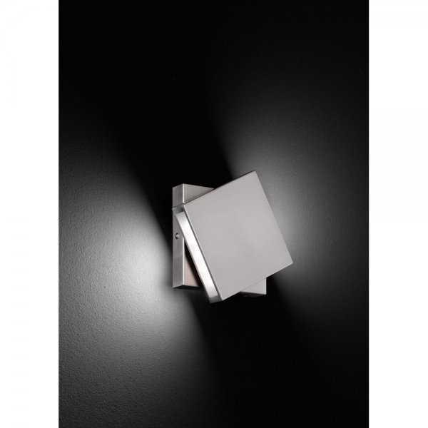 drehbare led wandleuchte nickel matt 223170207 trio. Black Bedroom Furniture Sets. Home Design Ideas