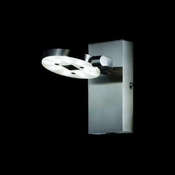 verstellbare led wandleuchte wandlampe shine 51951 mit schalter fischer leuchten ebay. Black Bedroom Furniture Sets. Home Design Ideas