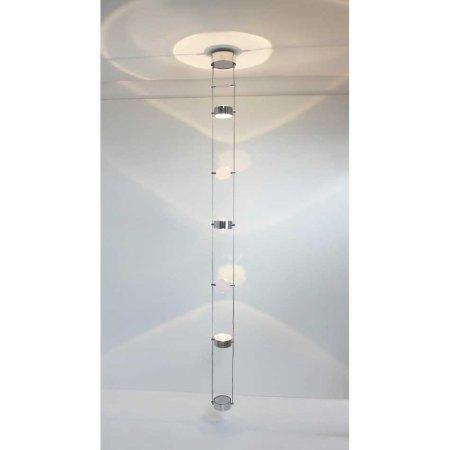 PUK Tri Star ceiling pendant luminaire - Top Light