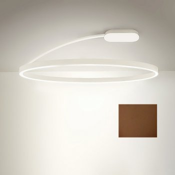 Exhibit - TeamItalia LED ceiling light Bellai Home Plafone Ø 70 cm grill, dimmable