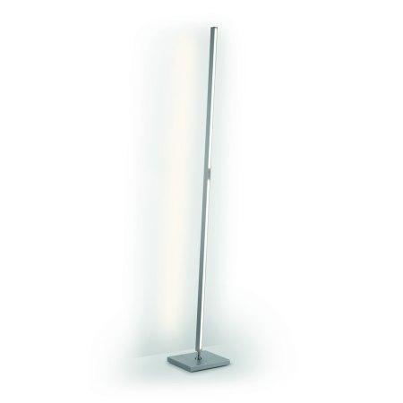 Knapstein Exhibition Piece - LED floor lamp 41.966.26 concrete look 2 x sensor dimmer with gesture control