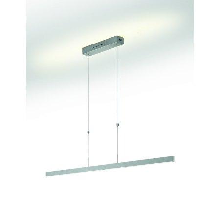 LED pendant lamp nickel mat 51.475.05 95 cm Knapstein