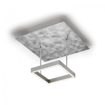 Exhibition Piece Knapstein LED ceiling lamp nickel dull_metal foil silver 91.341.59