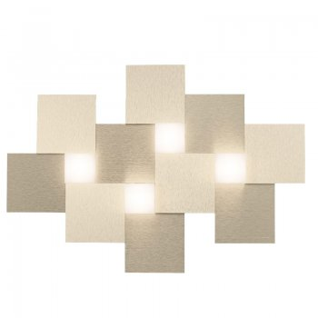 Exhibition piece - Grossmann 52-770-075 Cubic LED wall and ceiling luminaire Creo 4-flg
