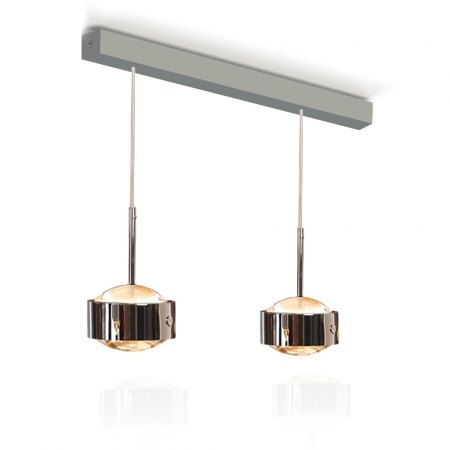 Exhibit - Top Light Puk Maxx Choice Drop LED pendant lamp 2 lamp heads 8-6874022