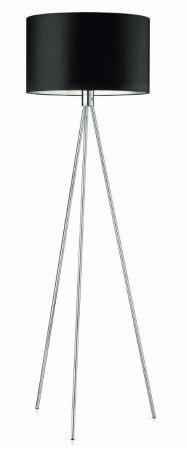 Knapstein floor lamp 41.948.05-11 matt nickel, shade cylindrical