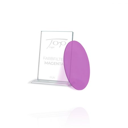Top Light Accessories Puk colour filter magenta - under glass or lens only 2-2029