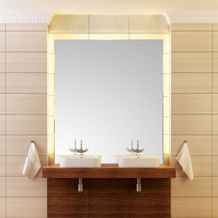 Top Light InLight crystal light mirrors in standard sizes and made to measure