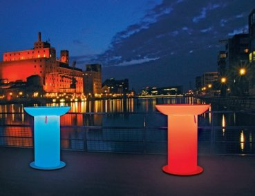 "Leuchttisch ""LOUNGE UP"" LED PRO ACCU Multicolor Moree Outdoor"