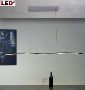 led esstischleuchte onda 115cm 32390509 32290509 bopp leuchten. Black Bedroom Furniture Sets. Home Design Ideas