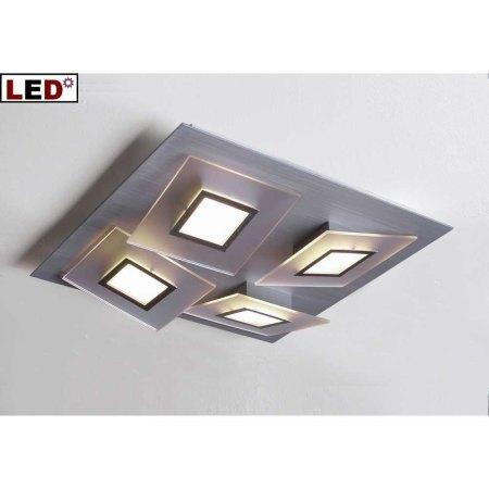 Led deckenleuchte frame 4 flammig 36160409 bopp leuchten for Led lampen deckenleuchten