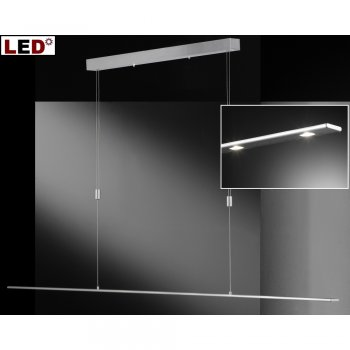 xxl led esstischlampe 67740 vilde 180cm hugo honsel. Black Bedroom Furniture Sets. Home Design Ideas