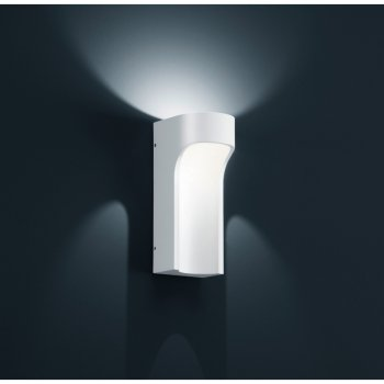 "LED exterior wall light ""ROC 44"" matte white A18405.07 Helestra - Kopie"
