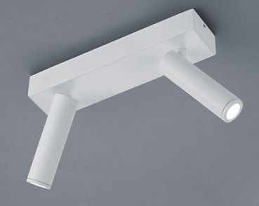 LED ceiling spotlight FOX white-  25/1760.07 / 2flg - Helestra