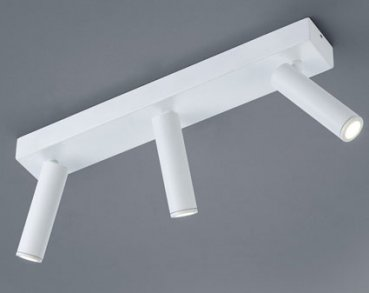 LED ceiling spotlight FOX white - 35/1760.07 - IP40 - 3flg - Helestra