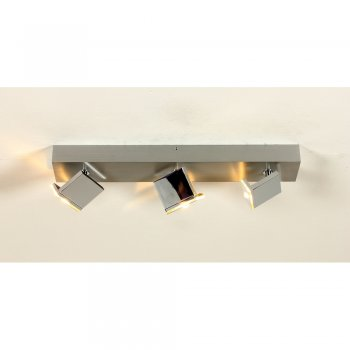 LED Deckenleuchte ELLE 41780309 3 Flg. Alu/hochglanzchrom Bopp Leuchten