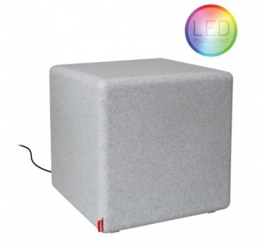 "Outdoor Tisch/Hocker ""CUBE"" Granit 06-06-02-LED Moree"