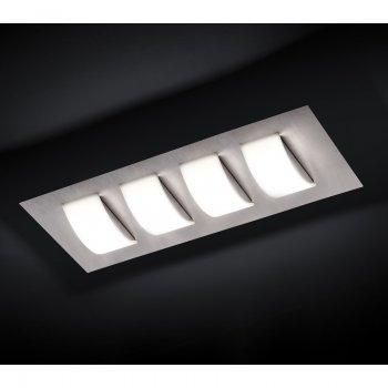 LED Deckenleuchte COBA 54 767 072 Alu Gebürstet Grossmann