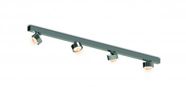 Puk Choice Move LED - 1050mm nickel matt 4x8 Watt Top Light