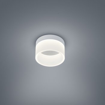 Helestra LIV LED ceiling lamp matte white satin Ø 15 cm 15/1732.07