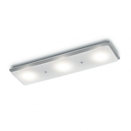 Knapstein Pia-3 LED Balkenleuchte Nickel 91.348.05 dim to warm