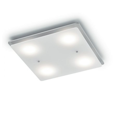 Knapstein Pia-4 LED Balkenleuchte Nickel matt 91.349.05 dim to warm