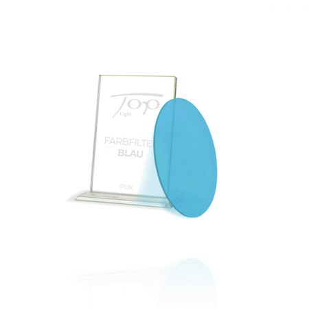 Top Light Accessories Puk colour filter blue - only when fitted under glass or lens 2-2033